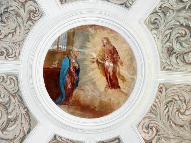 Michael Willmann: Joseph erscheint Maria bei dem Tode Christi, 1693 - 1695