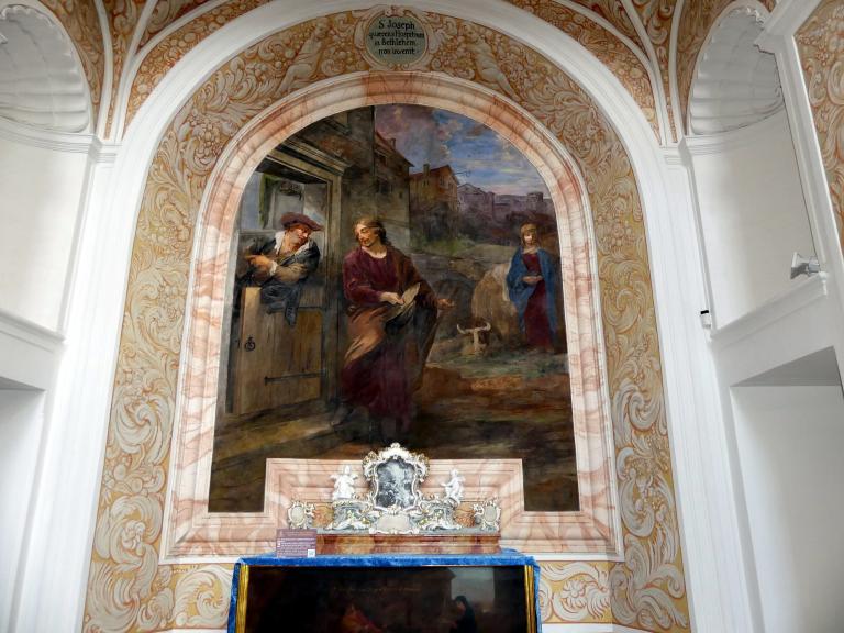 Michael Willmann: Joseph und Maria auf der Herbergssuche, 1693 - 1695