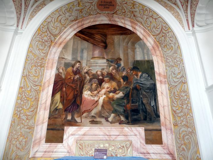 Michael Willmann: Beschneidung Christi, 1693 - 1695