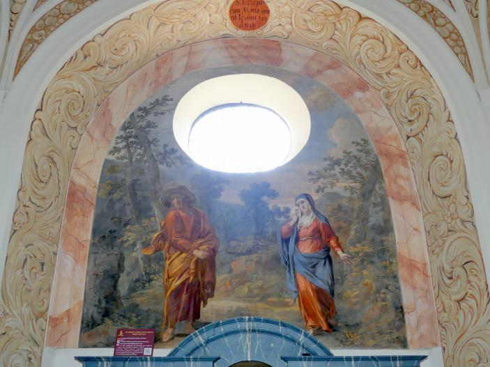Michael Willmann: Jesus und Maria suchen den Jesusknaben, 1693 - 1695