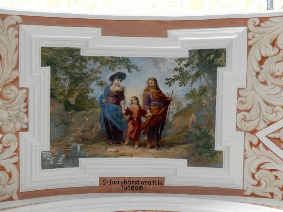 Michael Willmann: Rückkehr der Heiligen Familie aus Ägypten, 1693 - 1695