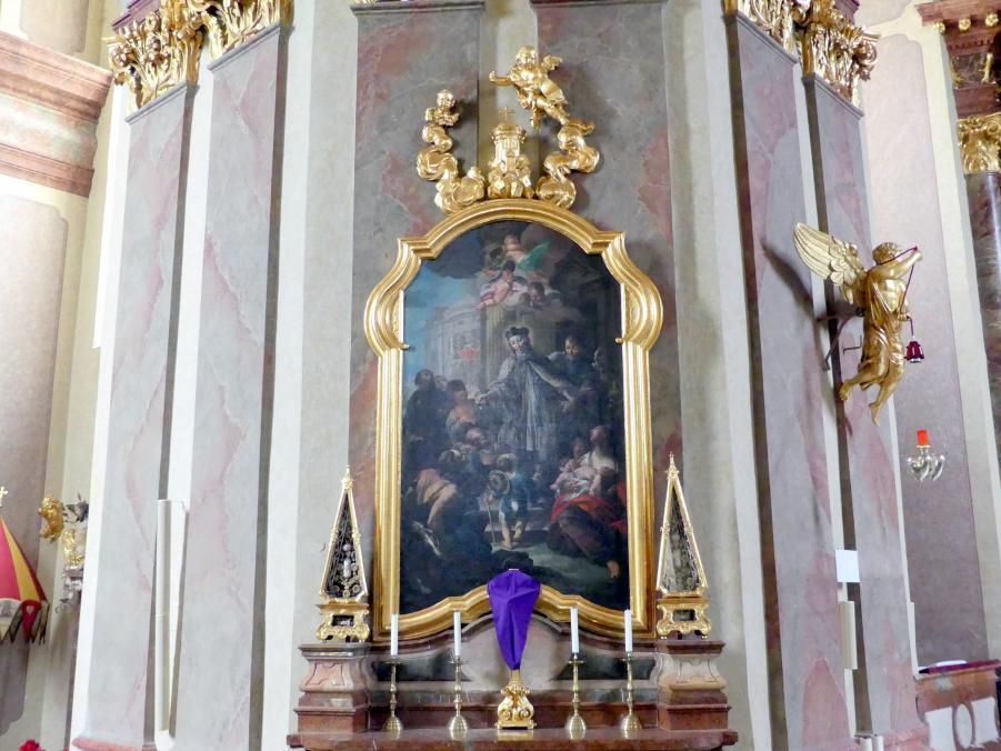 Joseph Matthias Götz: Johannes-Nepomuk-Altar, 1735 - 1739