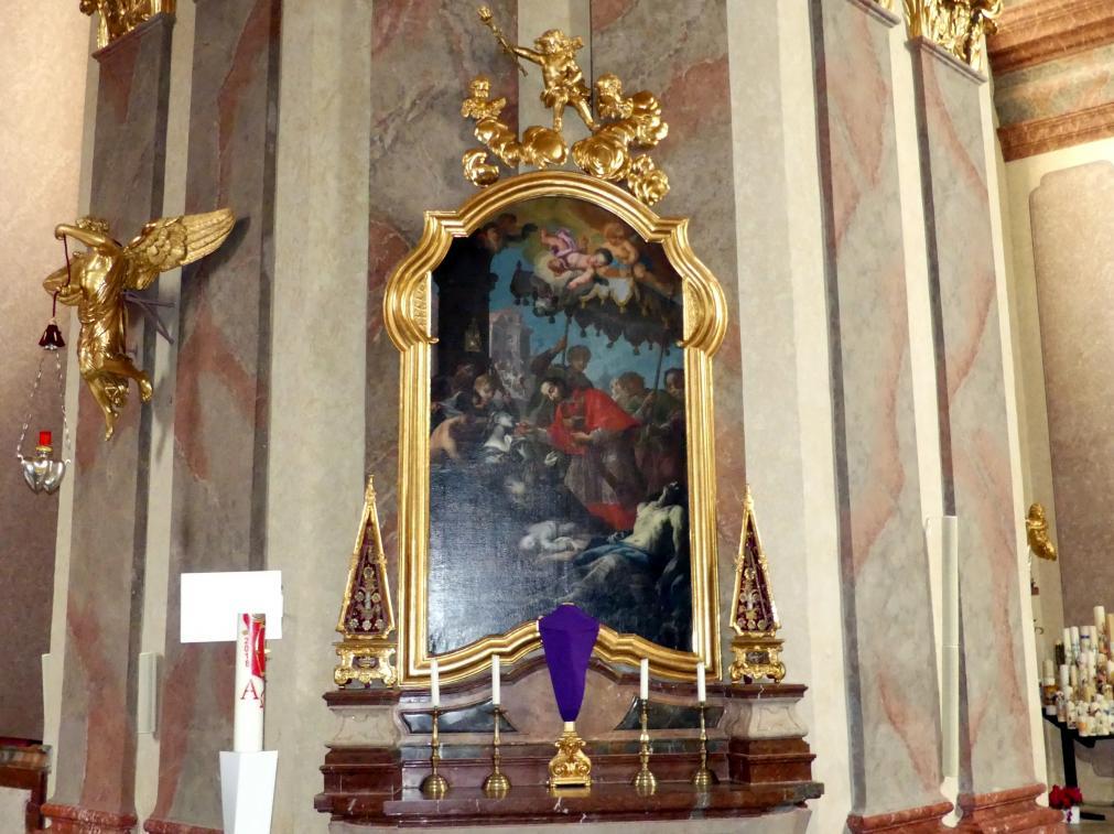 Joseph Matthias Götz: Karl-Borromäus-Altar, 1735 - 1739
