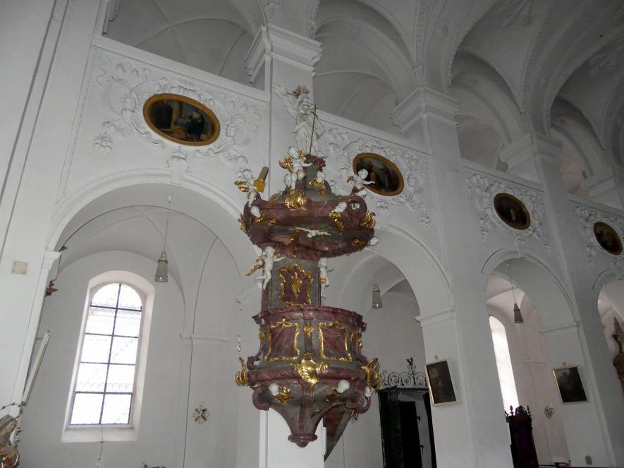 Johann Michael Fischer (Bildhauer): Kanzel, 1758 - 1762