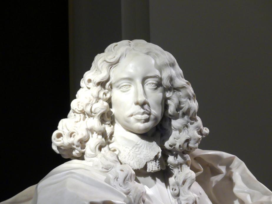 Gian Lorenzo Bernini: Büste des Francesco I. d'Este, 1651