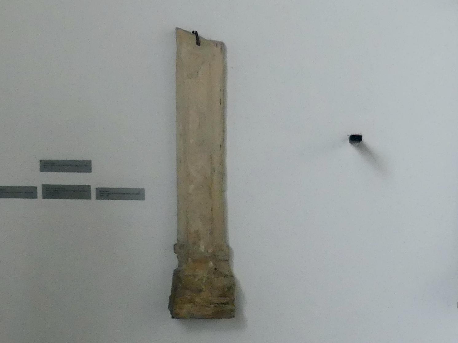 Fragment einer Halbsäule, 2. Hälfte 12. Jhd.