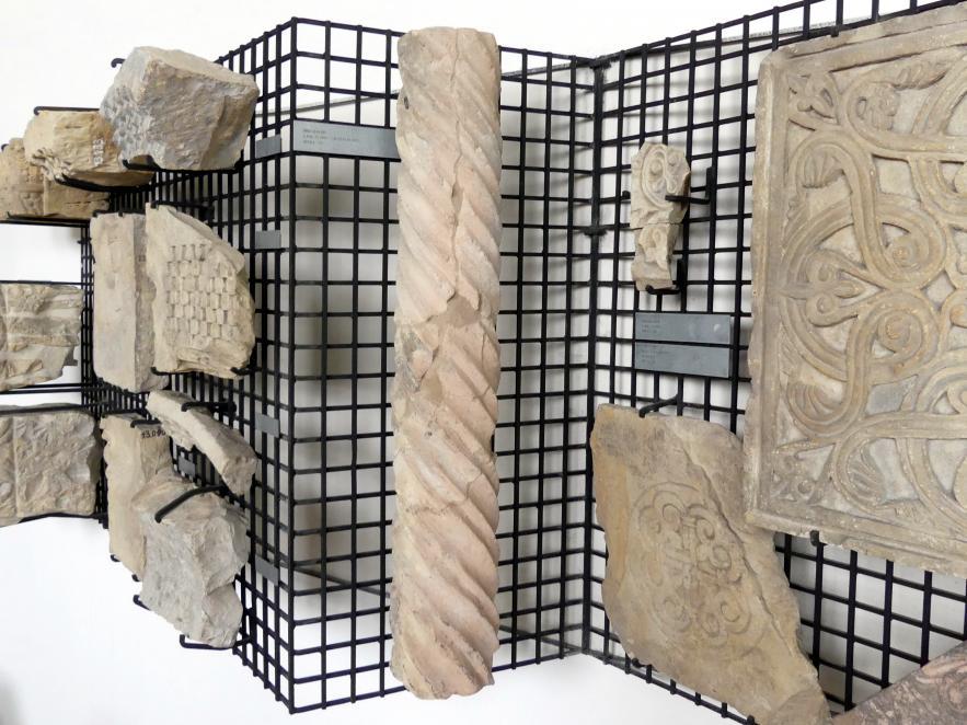 Säulenschaft, 1150 - 1230
