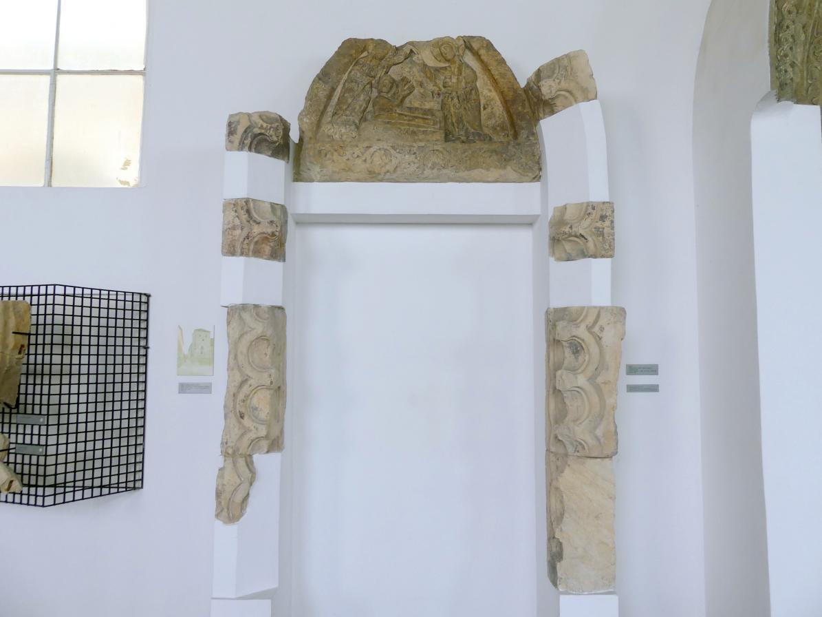 Portal mit dem Relief der Auferstehung des Lazarus, Mitte 13. Jhd.