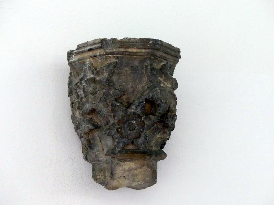 Dienstkapitell (Kapitell einer schlanken Säule), um 1300