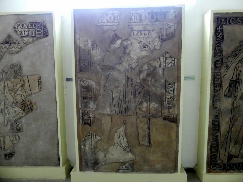 Grabmal eines unbekannten Abtes (Mstislaw ?), 14. Jhd.