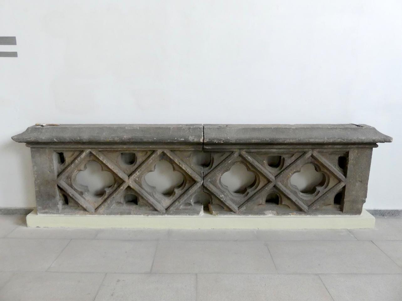 Brüstung der Galerie(?), 15. Jhd.