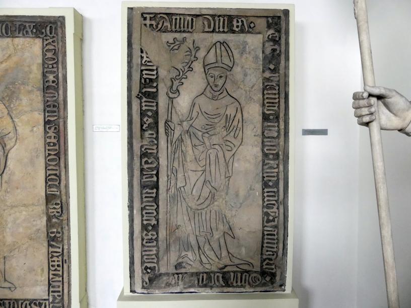 Grabmal des Abtes Jan Podnavec II. (gestorben 24.12.1400), 1401