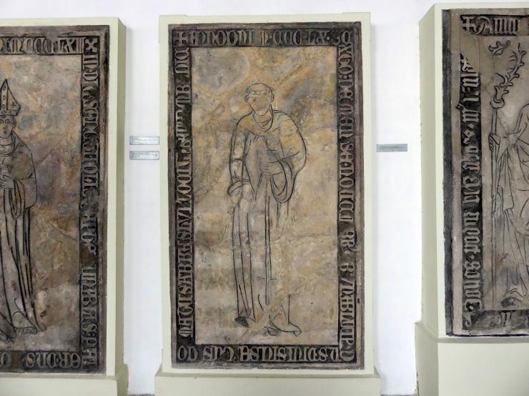 Grabmal des Abtes Dionysius (Diviš), gestorben im November 1366, nach 1366