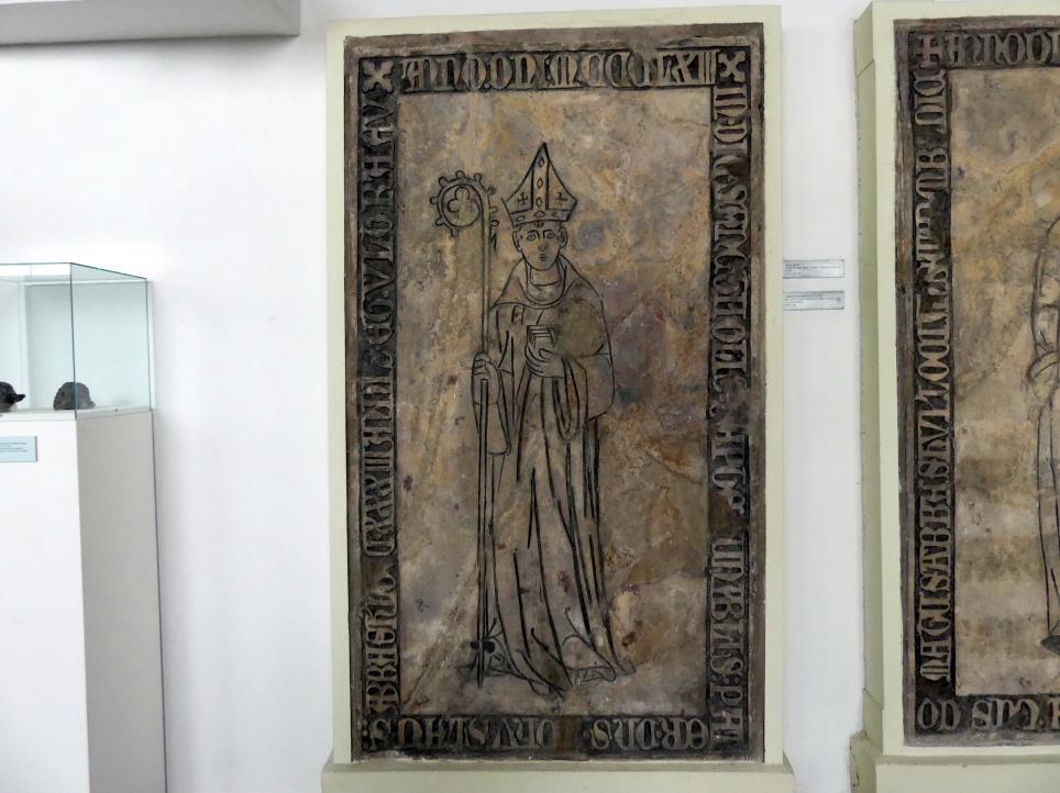 Grabmal des Abtes Bohuslav (gestorben 24.6.1363), 1363
