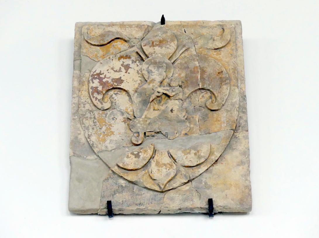 Wappen des Jan von Stříbro, Domherr im Veitsdom und Pfarrer der Kirche St. Gallus, nach 1400