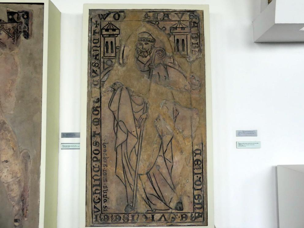 Grabmal des Abtes Vojslav (gestorben zwischen 1313 – 1316), Beginn 14. Jhd.