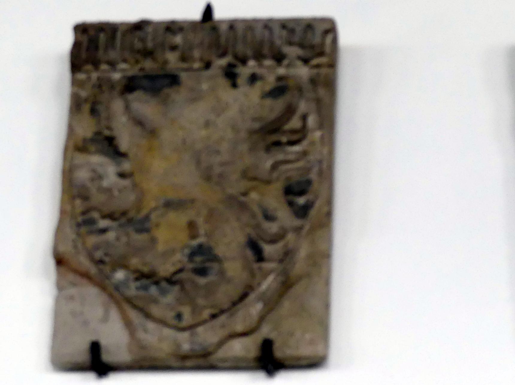 Wappen des Luxemburger Löwen, 2. Hälfte 14. Jhd.