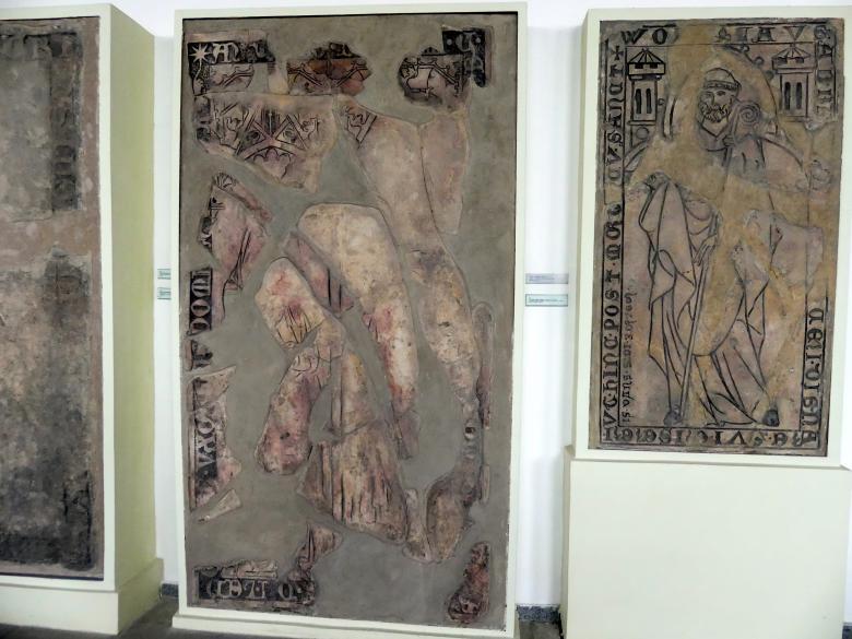 Grabmal des Sudek aus Ledče (gestorben 1312) und seiner Frau, Nach 1330