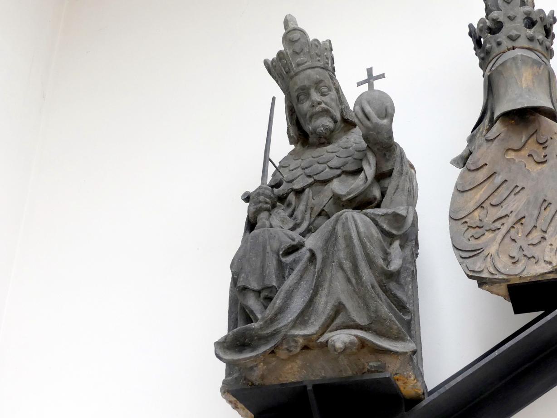 Peter Parler: Karl IV. als römischer Kaiser, Um 1380