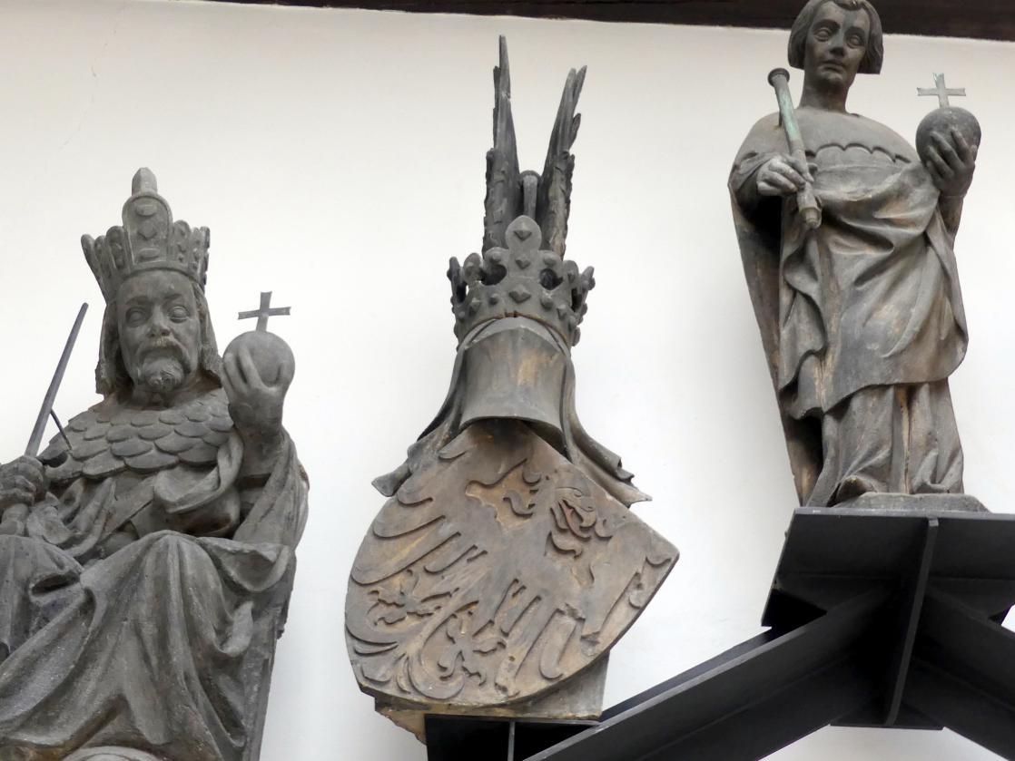 Peter Parler: Wappen des Heiligen Römischen Reiches, Um 1380