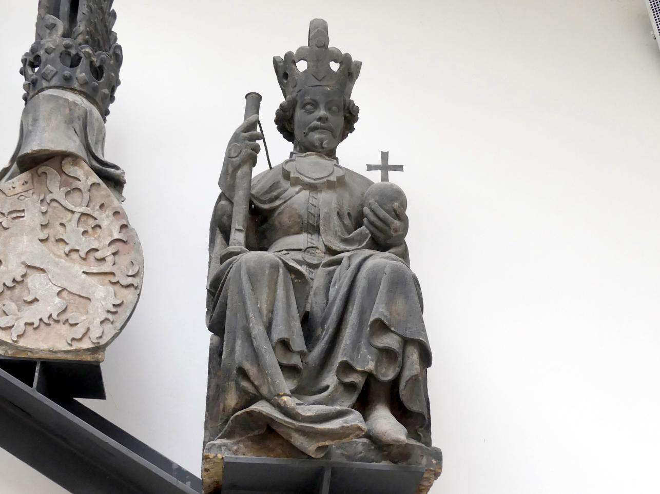 Peter Parler: Wenzel von Luxemburg (1361-1419), als Wenzel IV. 1363-1419 König von Böhmen, Um 1380