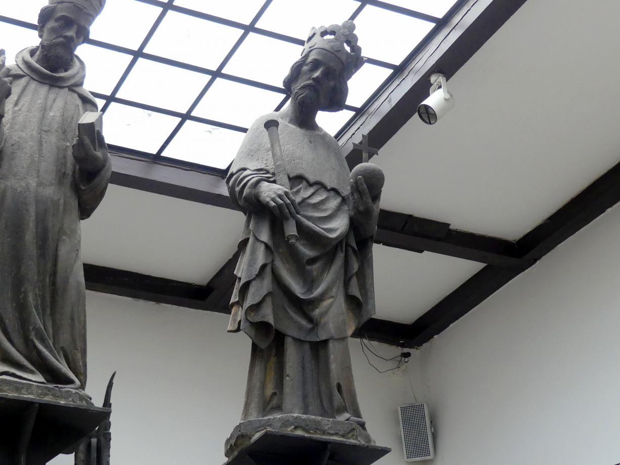 Peter Parler: Statue des Heiligen Sigismund, Um 1380