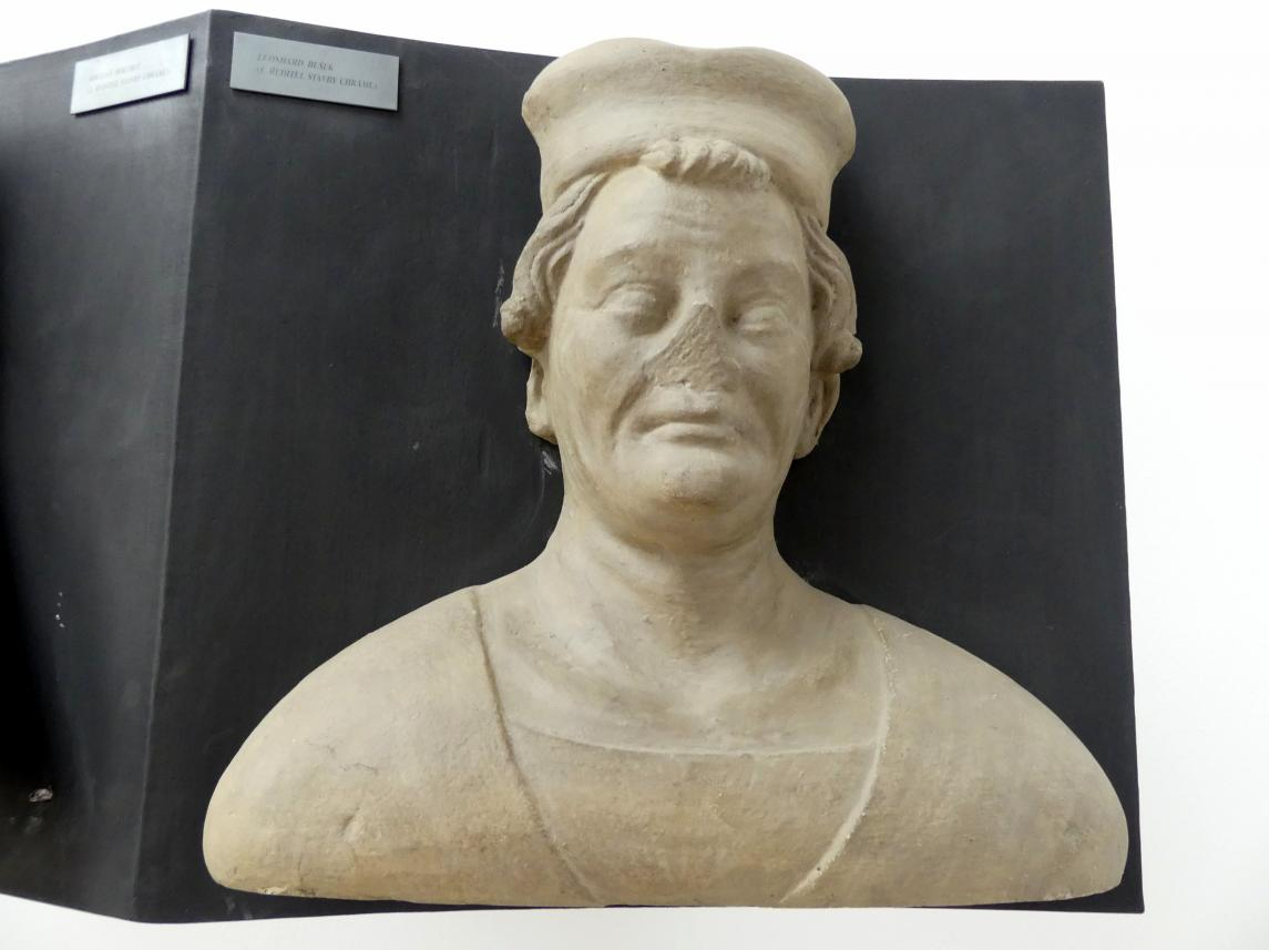 Peter Parler: Leonard Bušek, 1. Leiter der Bauhütte am Veitsdom, 1376 - 1385