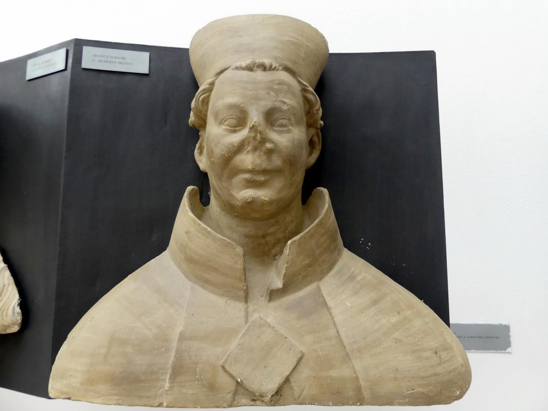 Peter Parler: Ernst von Pardubitz, 1. Erzbischof von Prag, 1376 - 1385