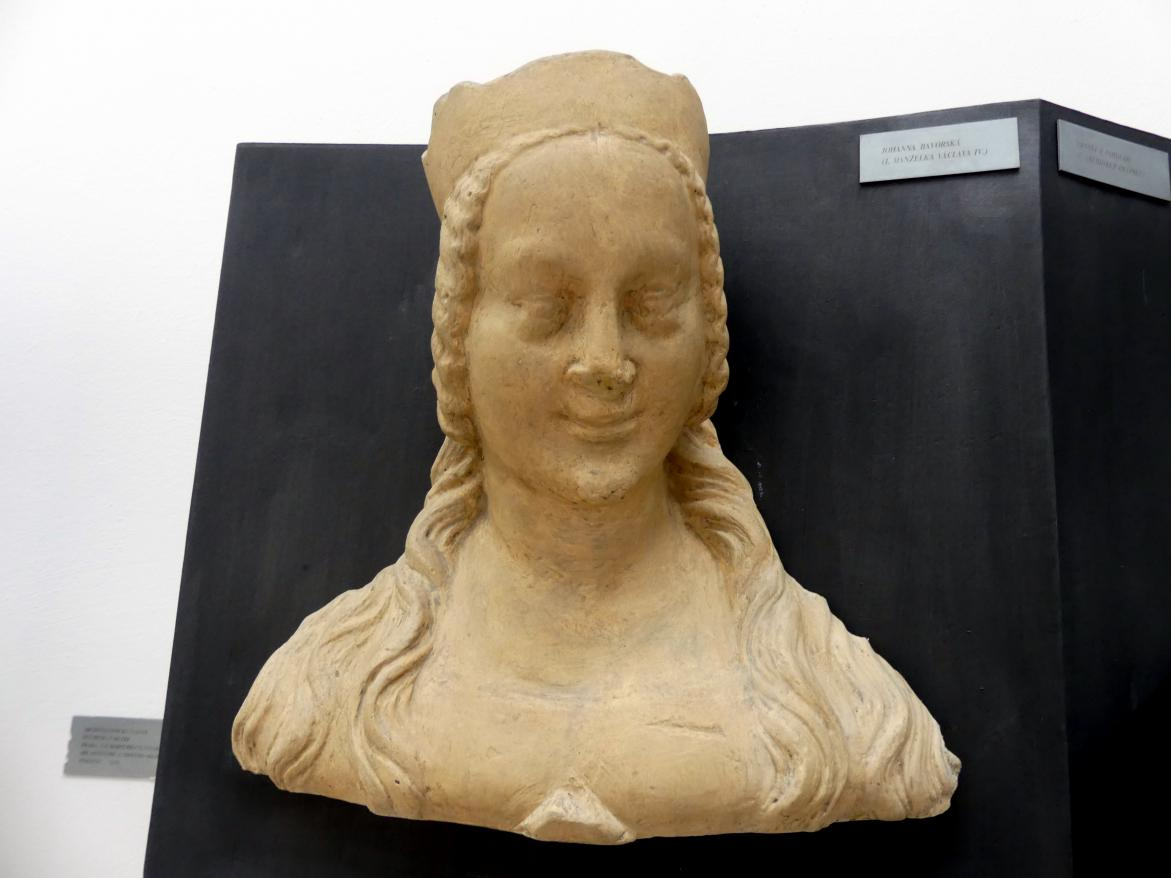 Peter Parler: Johanna von Bayern, 1. Ehefrau von Wenzel von Luxemburg, 1376 - 1385