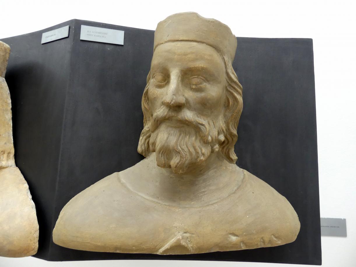 Peter Parler: Johann von Luxemburg, König von Böhmen, Vater von Karl IV., 1376 - 1385