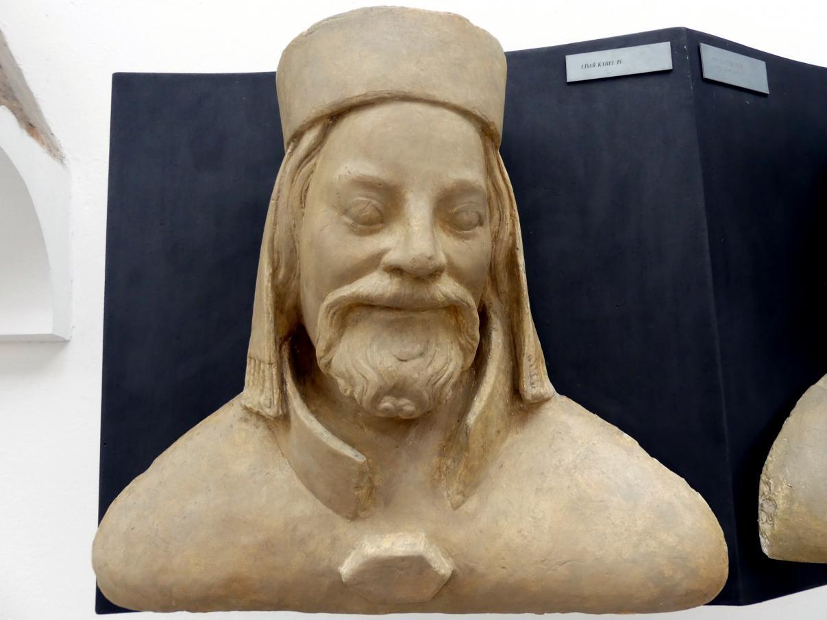 Peter Parler: Kaiser Karl IV., 1376 - 1385