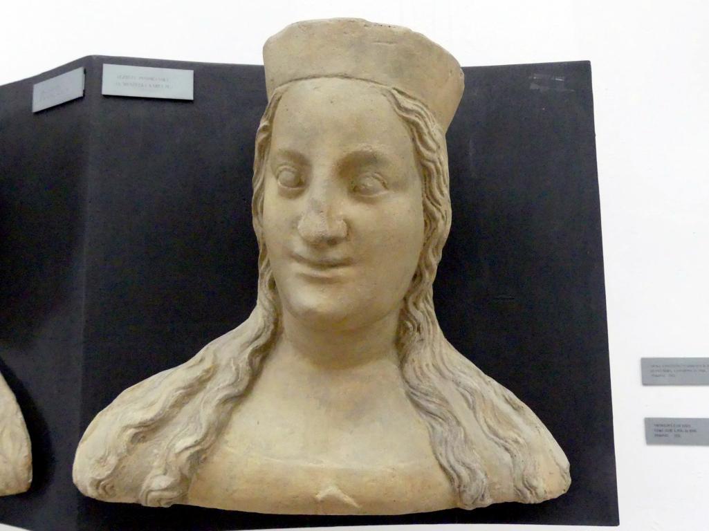 Peter Parler: Elisabeth von Pommern, 4. Ehefrau von Karl IV., 1376 - 1385
