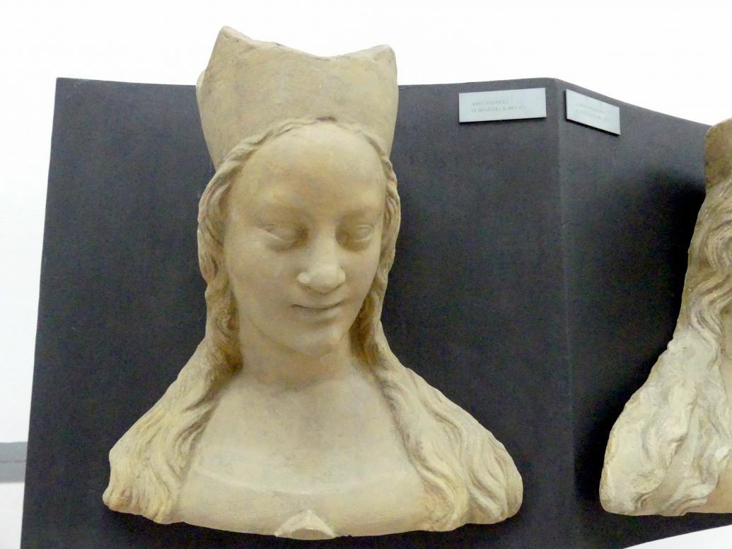 Peter Parler: Anna von Schweidnitz, 3. Ehefrau von Karl IV., 1376 - 1385