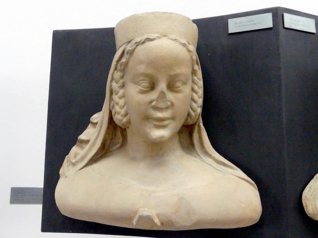 Peter Parler: Blanca Margarete von Valois, 1. Ehefrau von Karl IV., 1376 - 1385