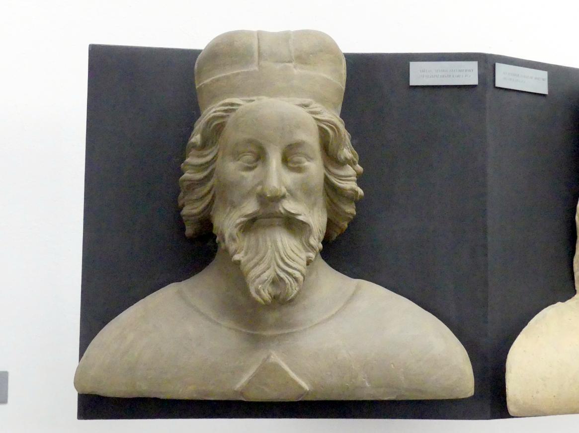 Peter Parler: Wenzel I. von Luxemburg, 1. Herzog von Luxemburg, Halbbruder von Karl IV., 1376 - 1385