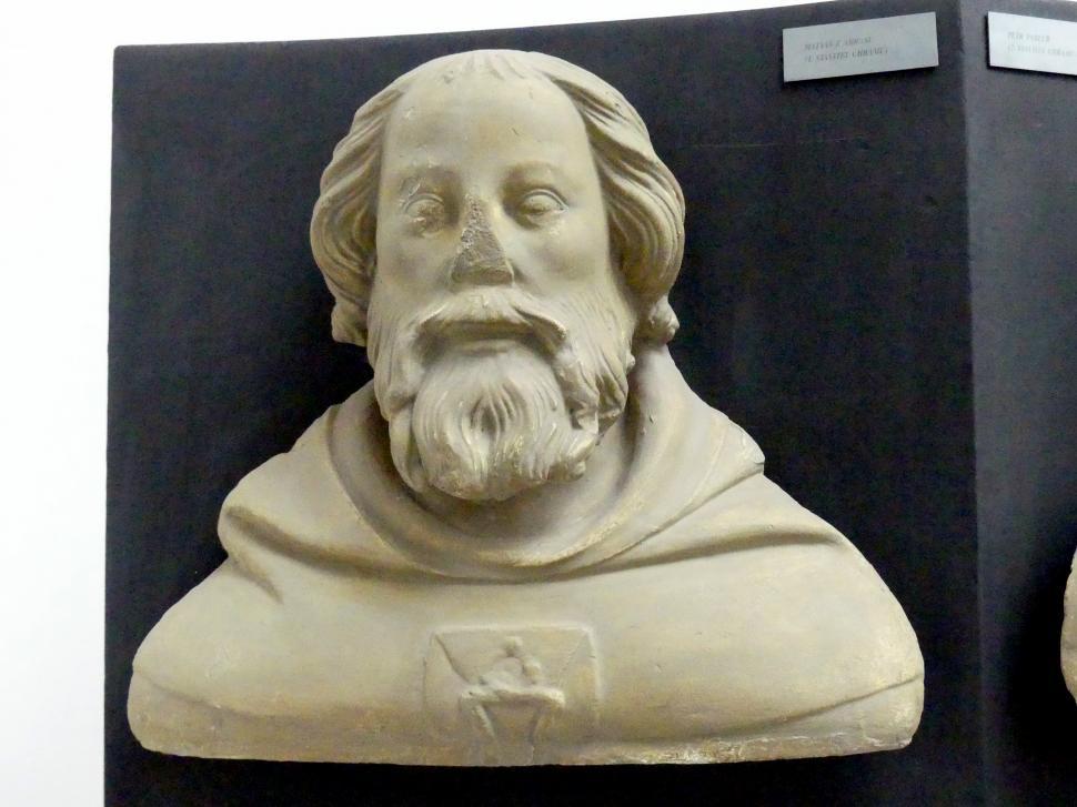 Peter Parler: Matthias von Arras, 1. Dombaumeister am Veitsdom, 1376 - 1385