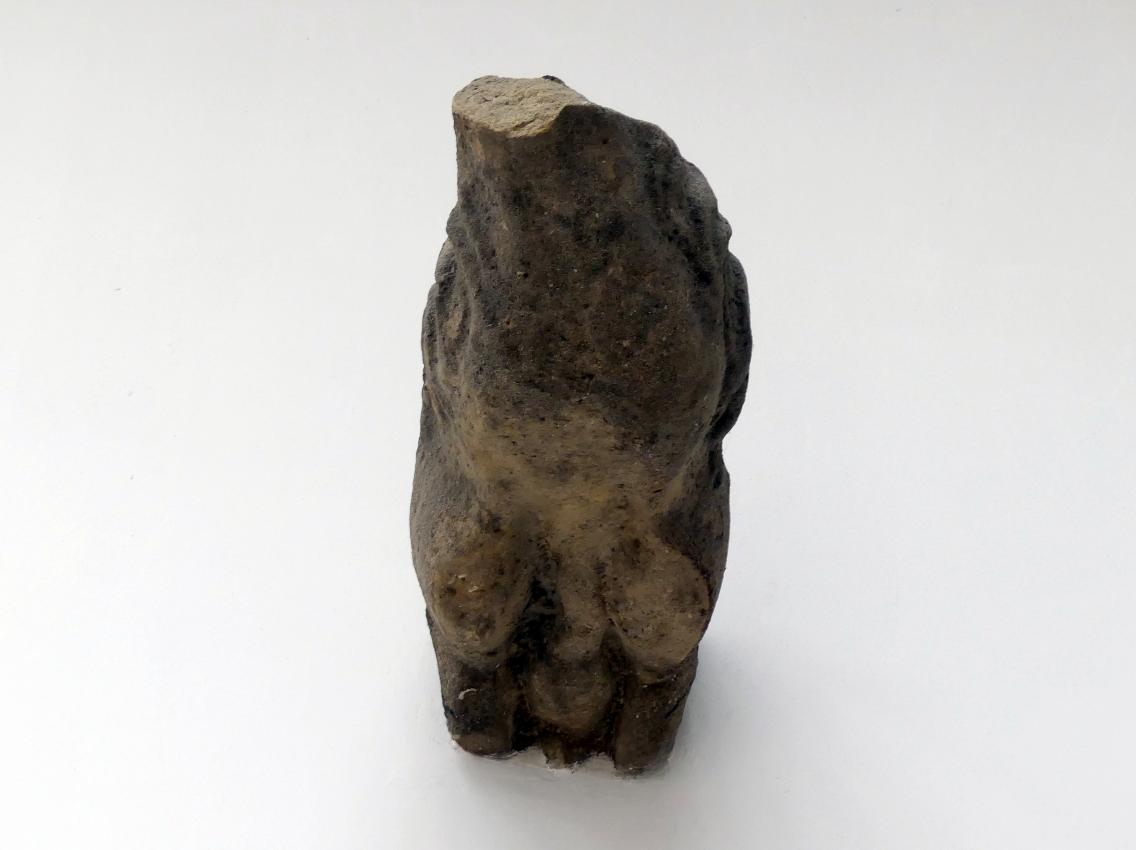 Peter Parler: Fragment eines Wasserspeiers (Gargoyle), 1360 - 1378