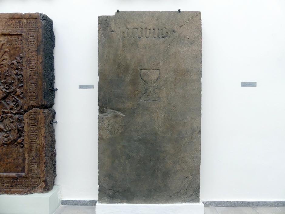 Grabmal eines Domherrn (?) Jakob, 1. Hälfte 15. Jhd.