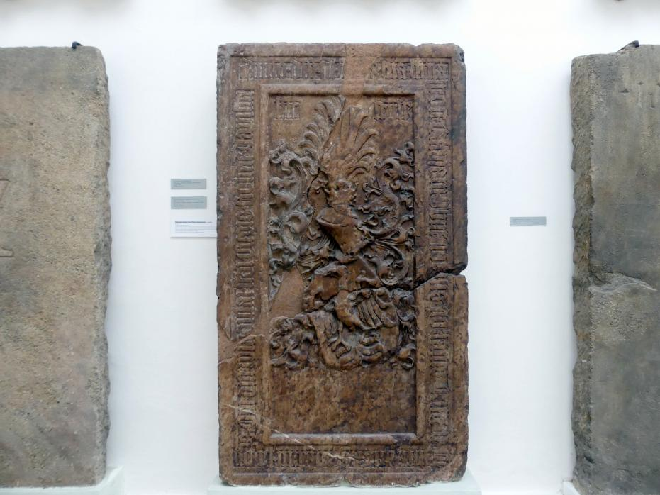 Grabmal des Jan Čéč aus Nemyčeves (gestorben 1488), 1488