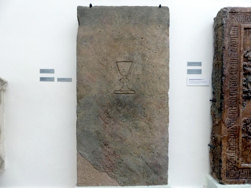 Grabmal eines unbekannten Priesters, 1. Hälfte 15. Jhd.