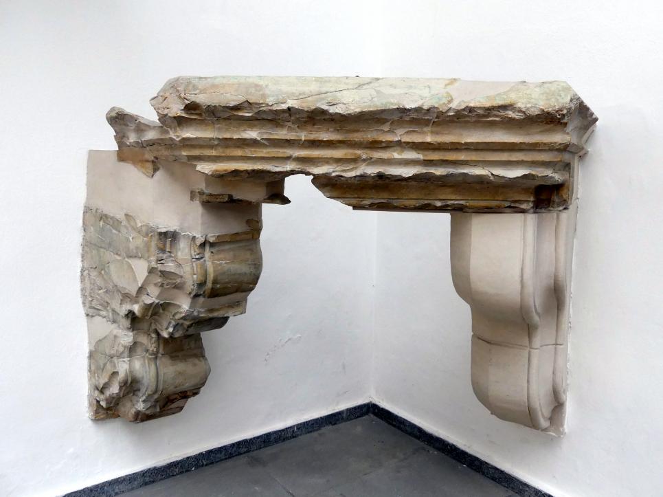 Kamingesims mit Kragstein, 1411 - 1412