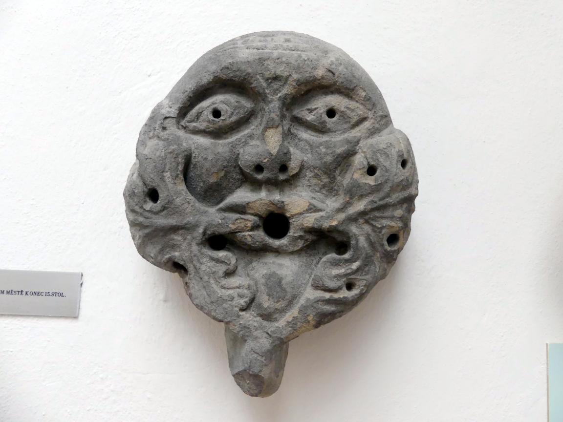 Der untere Teil eines Kragsteins, Ende 15. Jhd.