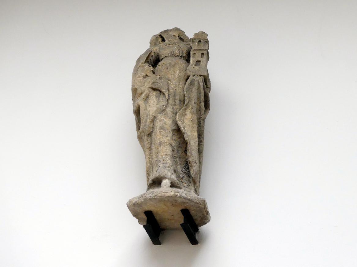 Matthias Rejsek: Statue der Hl. Barbara, der Patronin der Bergarbeiter und der Gefangenen, um 1493