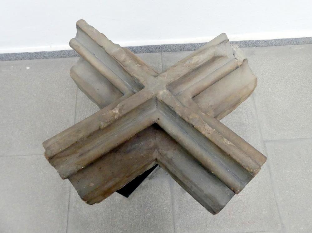 Gewölbe-Schlussstein, 1. Hälfte 15. Jhd.