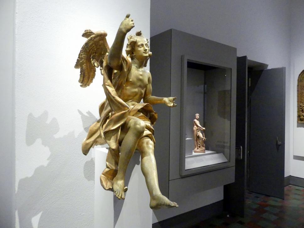 Johann Joseph Christian: Sitzender Engel, um 1760, Bild 2/4