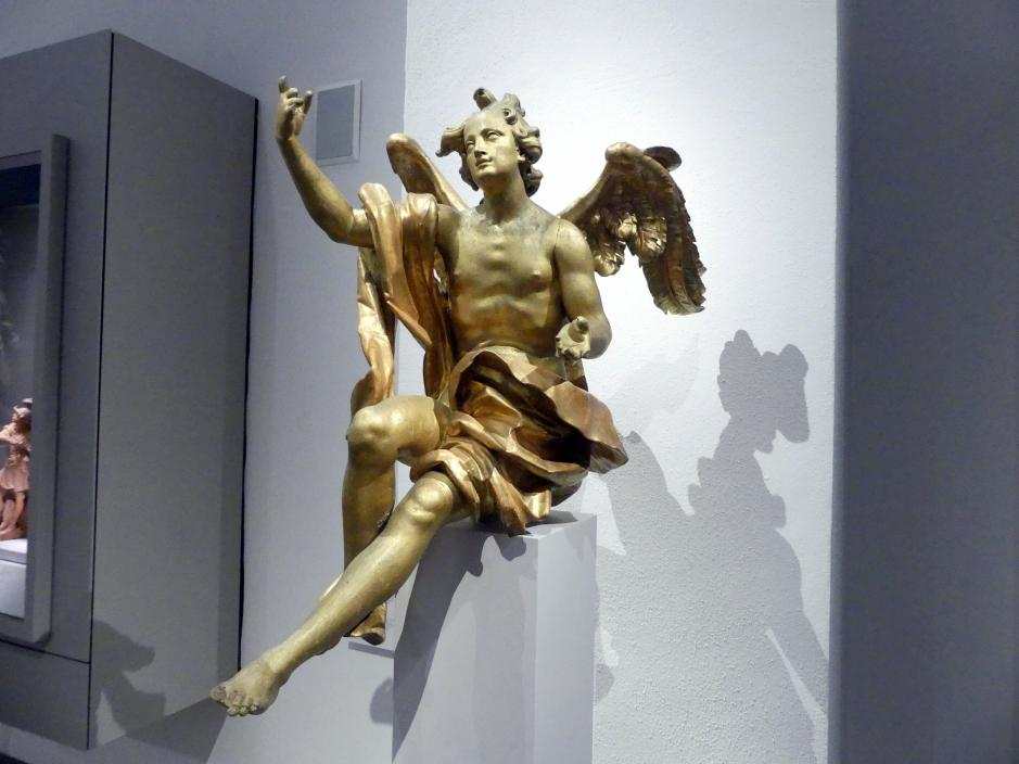 Johann Joseph Christian: Sitzender Engel, um 1760, Bild 3/4