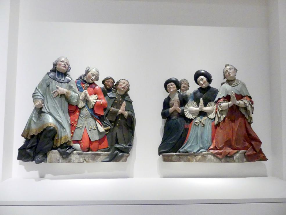 Christian Jorhan der Ältere: Vertreter verschiedener Stände in ewiger Anbetung, 1760 - 1765
