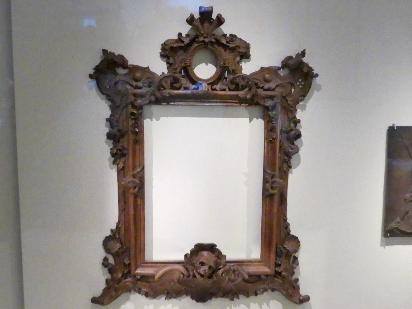 Paul Egell: Rahmen mit Vanitasmotiven, Um 1720 - 1725