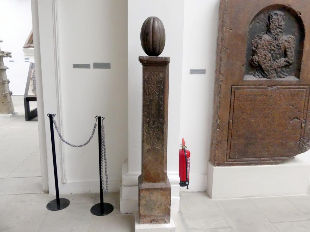 Säule mit Kürbis, 2. Hälfte 16. Jhd.