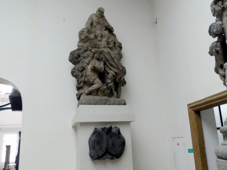 Johann Brokoff: Statuengruppe der Taufe Christi, 1706